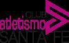 Club de Atletismo Santa Fe Logo