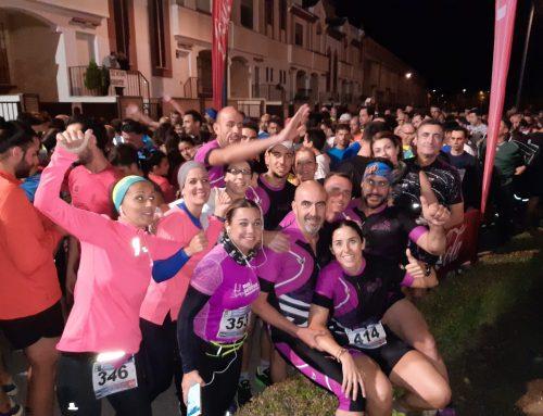 C.D. Atletismo Santa Fe. Octubre 2019. Atarfe, Burdeos, Loja y Fornes