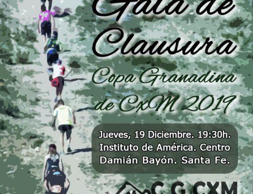 Gala Copa Granadina de Carreras por Montaña 2019