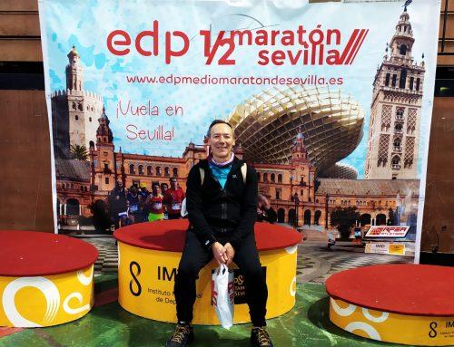 C.D. Atletismo Santa Fe. Enero 2020. Media Maratón de Sevilla