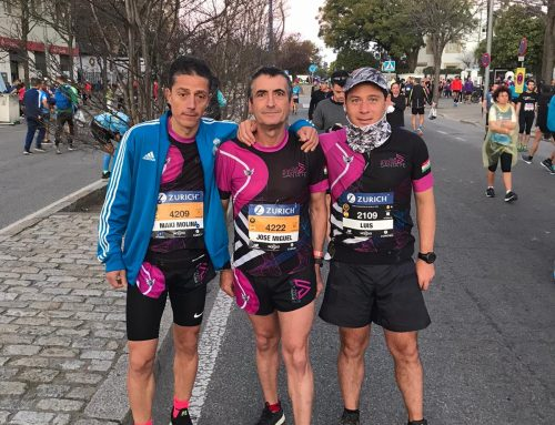 C.D. Atletismo Santa Fe. Febrero 2020. Maratón Sevilla